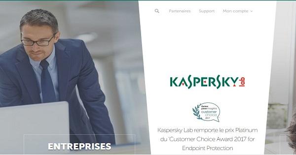 forces et faiblesses de l'offre Kaspersky