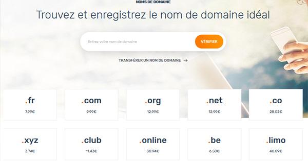 Nom de domaine gratuit Ex2