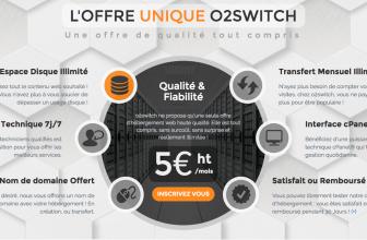 o2switch propose-t-il un nom de domaine gratuit? On vous répond