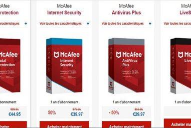 Pourquoi choisir l'antivirus de McAfee ? On vous dit tout