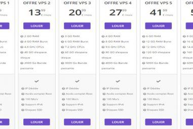 Quels sont les prix et tarifs de l'hébergeur Hostinger?